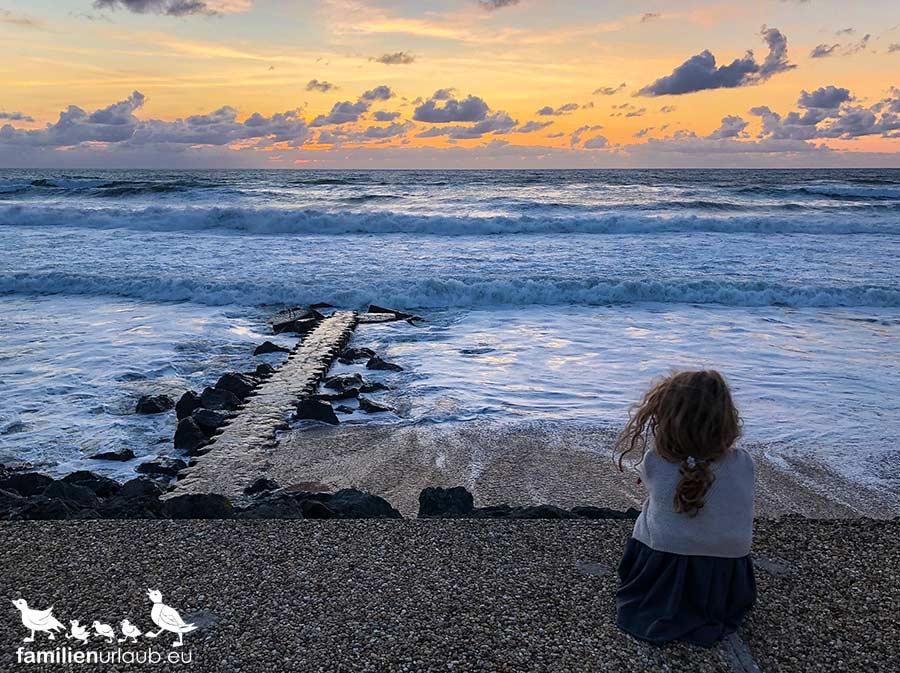 Sonnenuntergänge Atlantik
