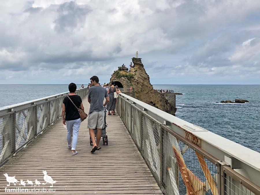 Biarritz Seebrücke