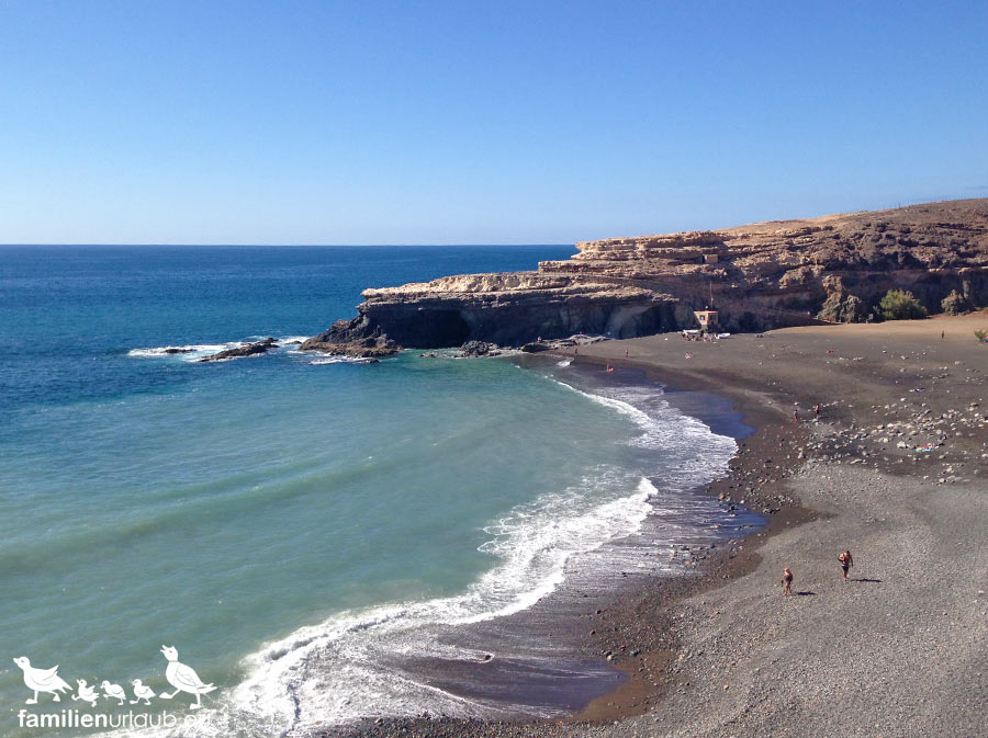 schwarzer Strand Fuerteventura