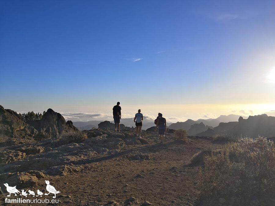 Wandern Roque Nublo