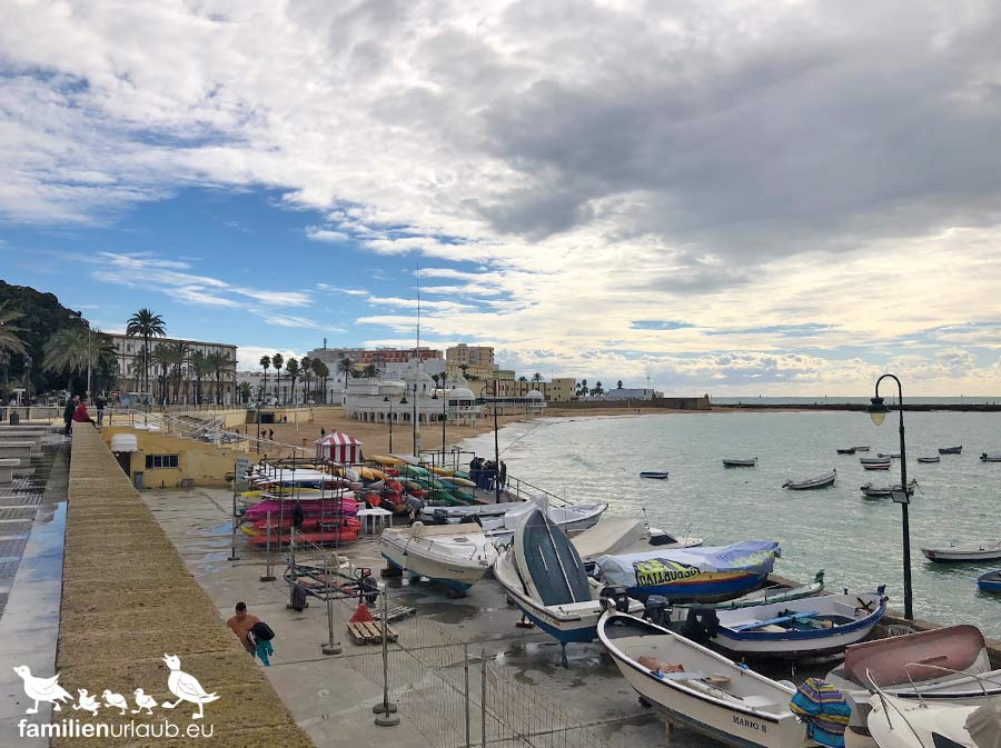 Cadiz Winter Hafen