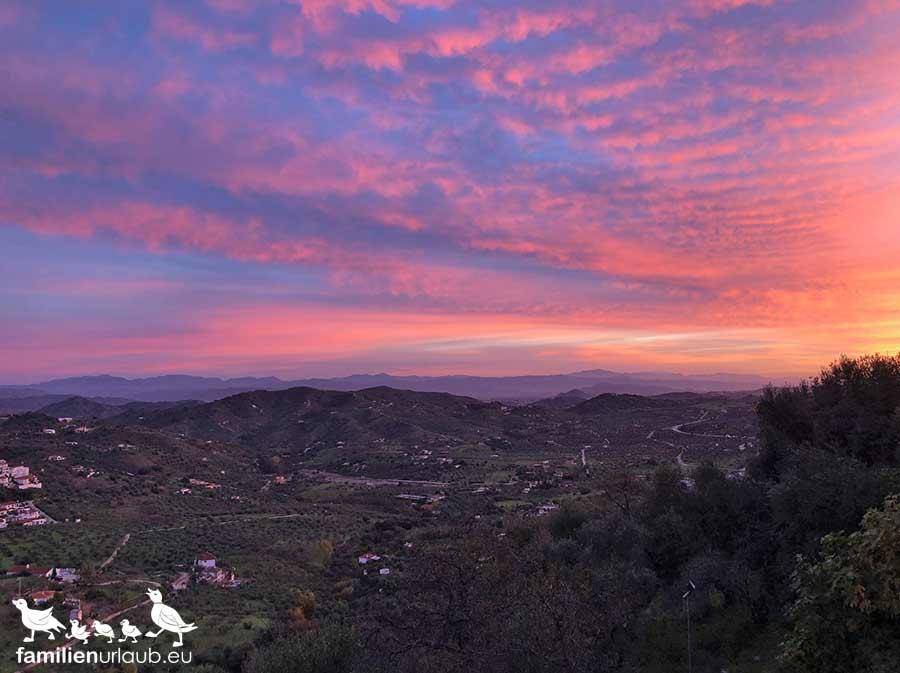 Andalusien Sierra Ausblick