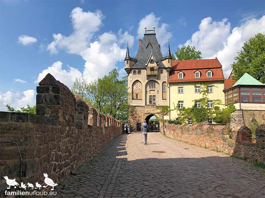 Meißen Schlossbrücke