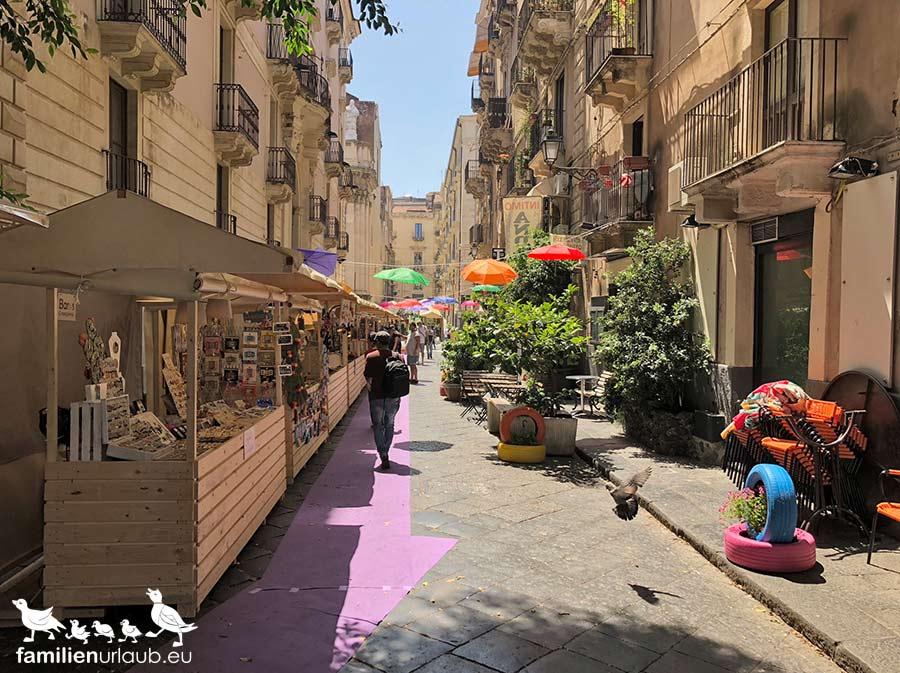 Catania Einkaufsstraße