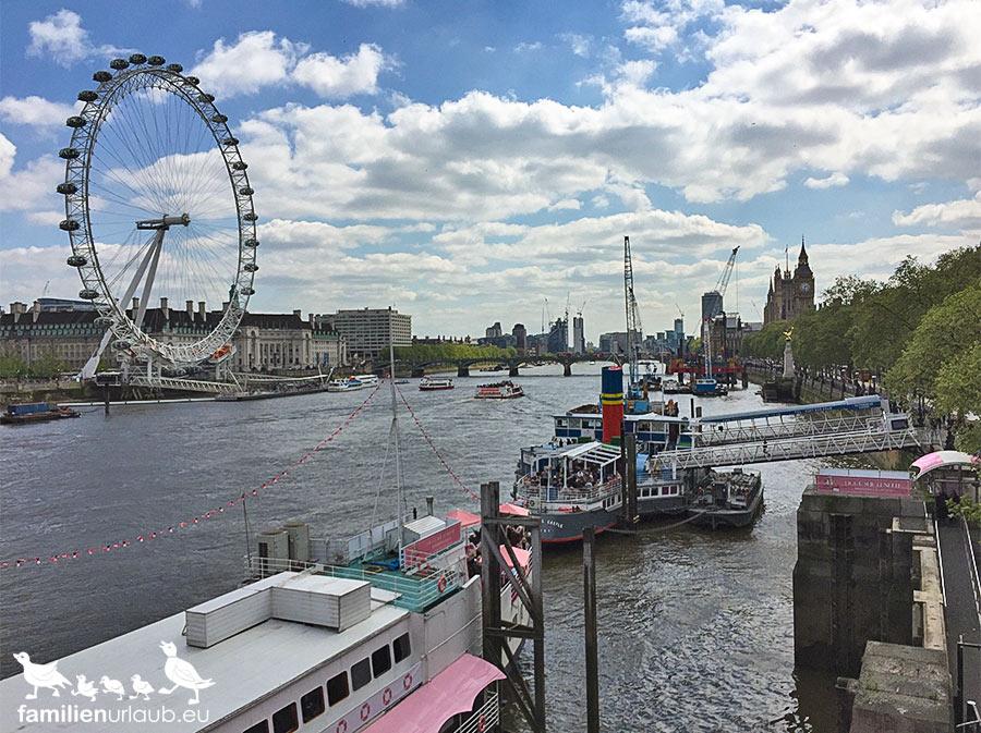 London Themse Schiffe