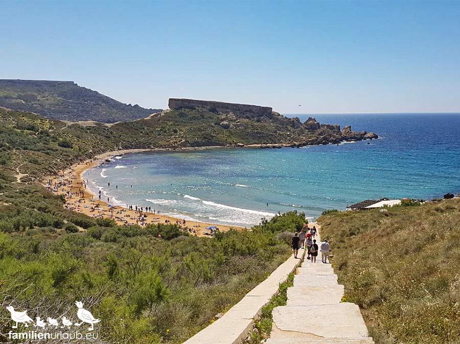 Tuffieha Bay Malta