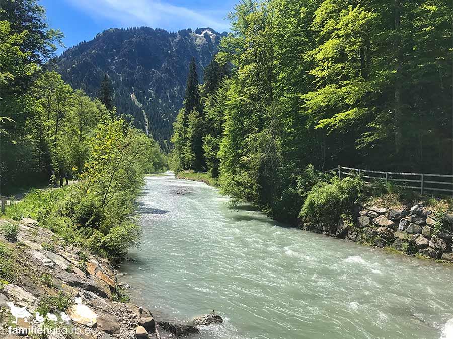 Renksteig Fluss