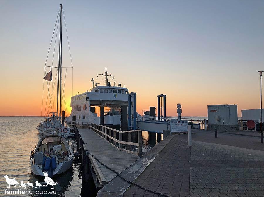Hafen von Schaprode