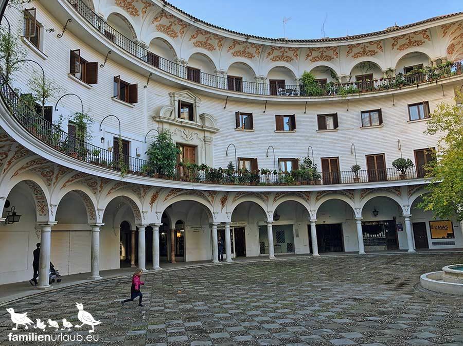 Hof in Sevilla