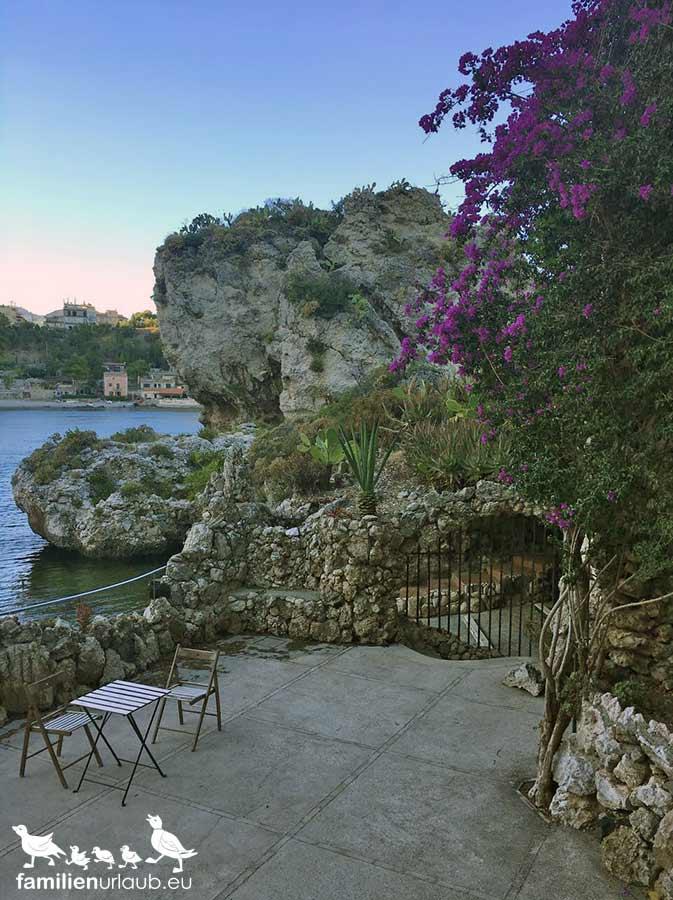 Sizilien Abenddämmerung