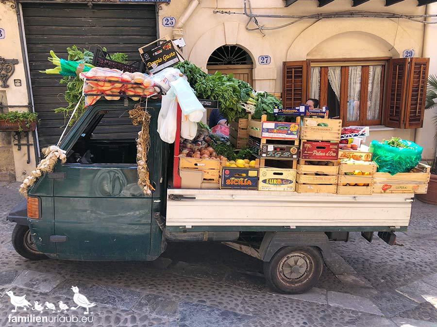 Sizilien Obst Gemüse