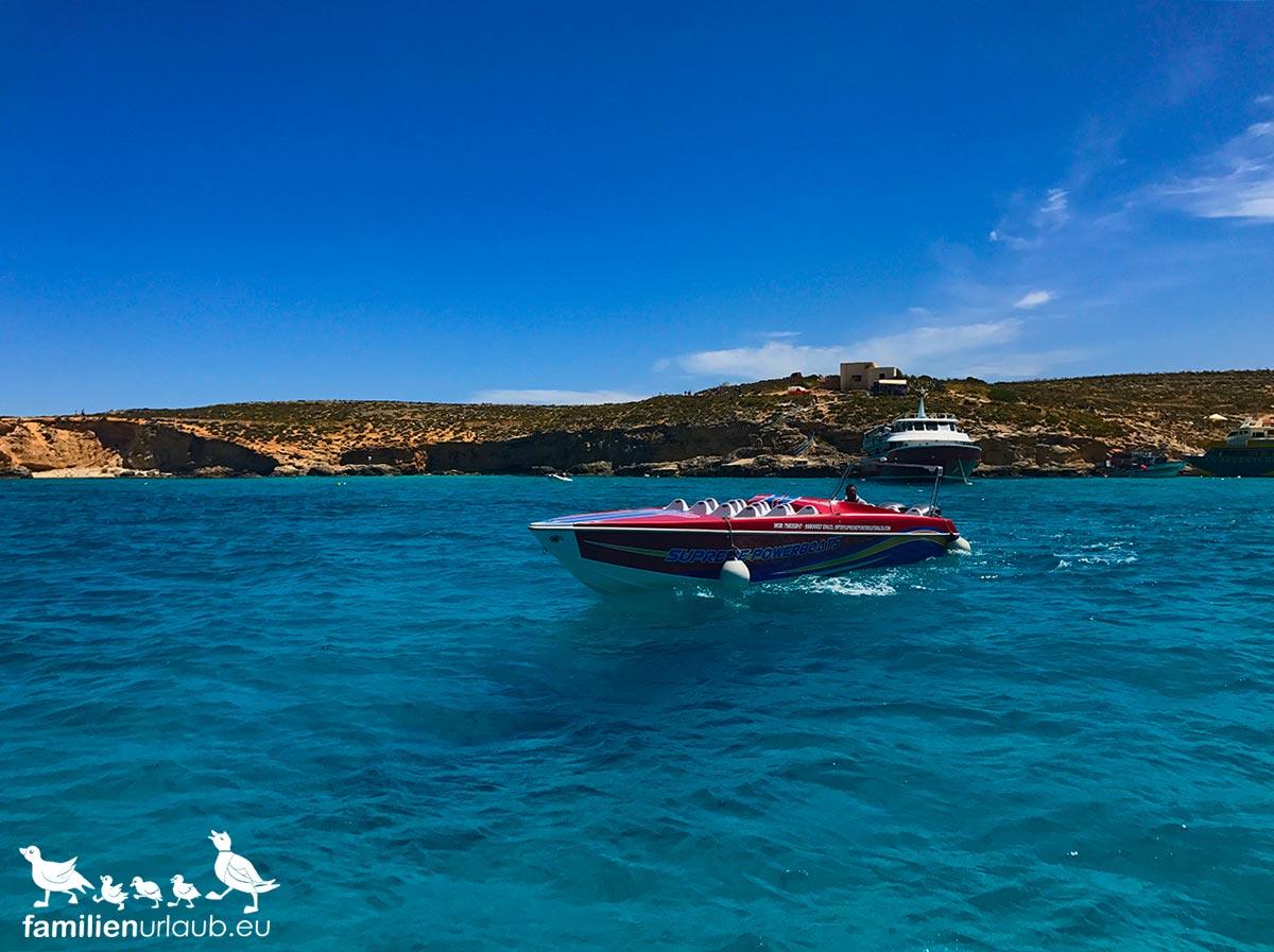 Speedboot Comino Malta