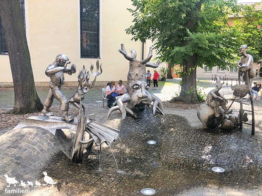 Lübbenau Brunnen