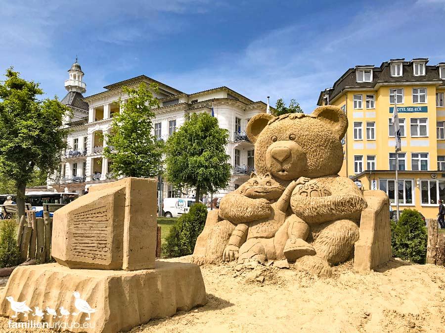 Sandskulptur Heringsdorf