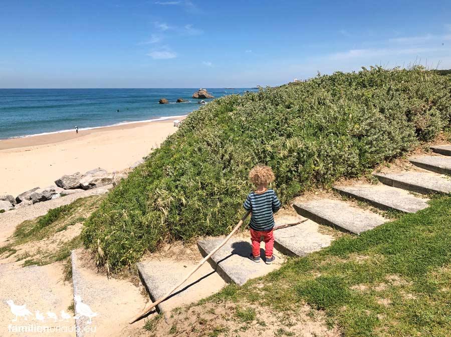 Strand Kind Frankreich