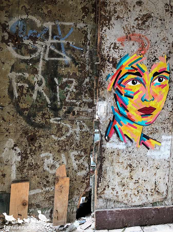 Straßenkunst Split