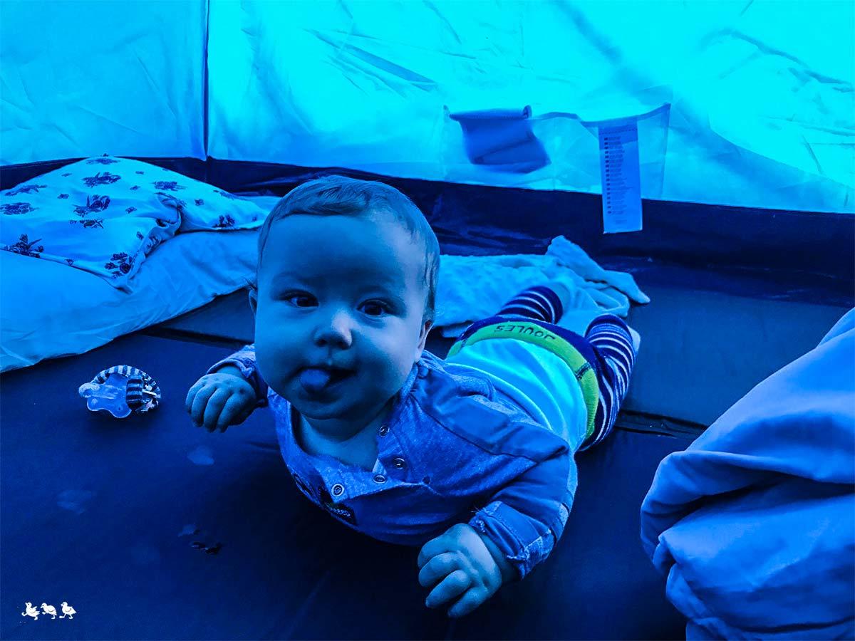 Zelten mit Babys